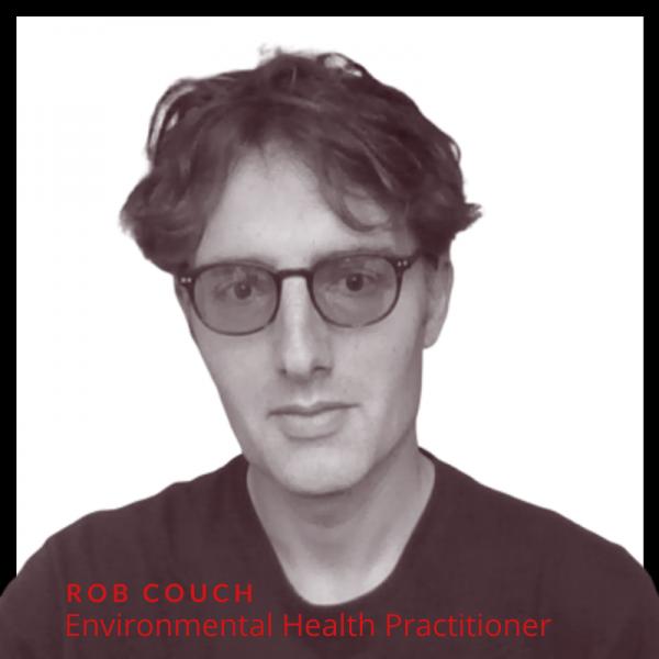 Photo of Rob Couch, environmental health advisor